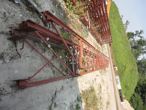 Steel roof trusses best offer bel air excavating and for Wood roof trusses for sale
