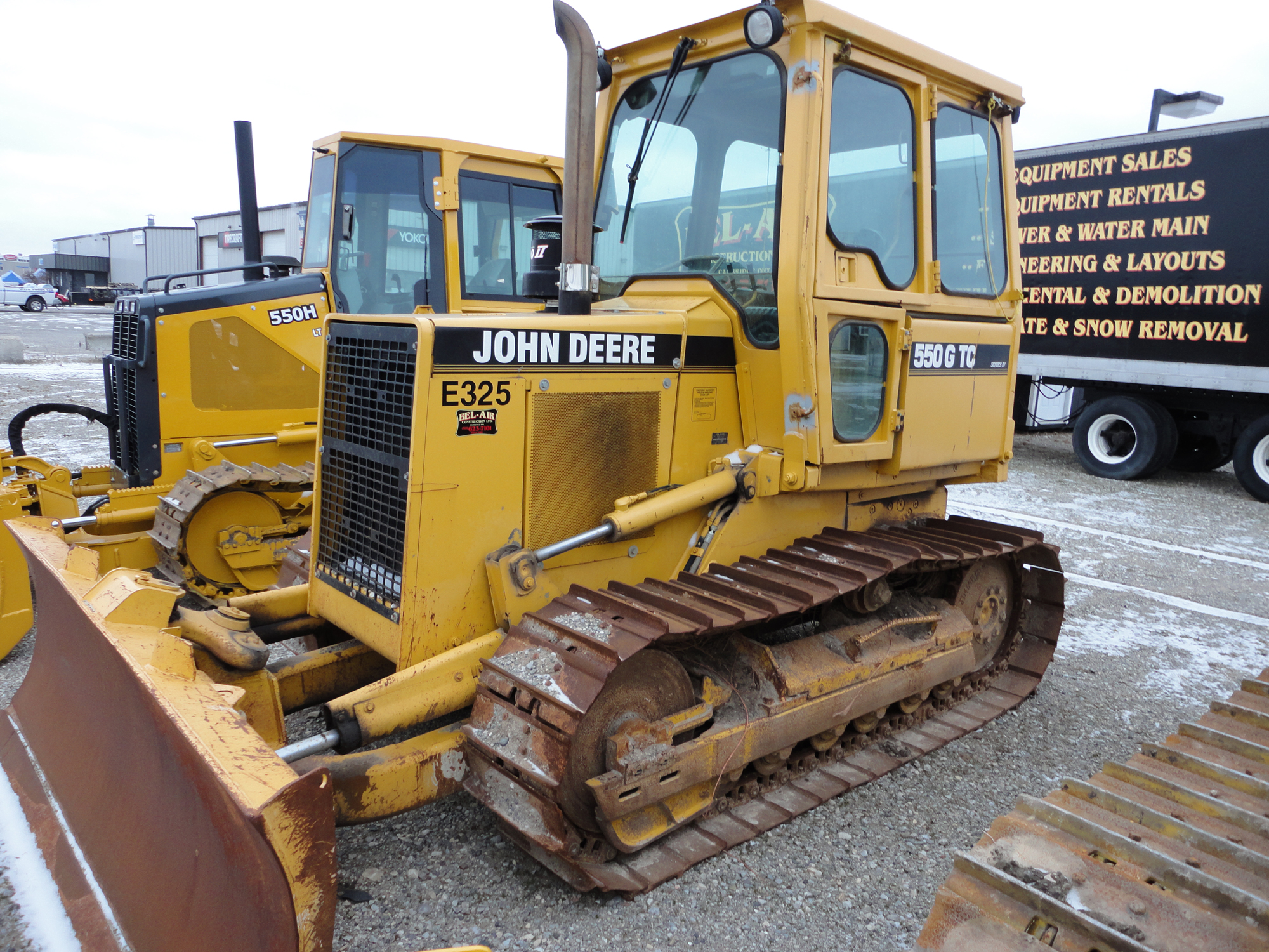 John Deere Dozer 1995 for sale from grading and excavation company Cambridge