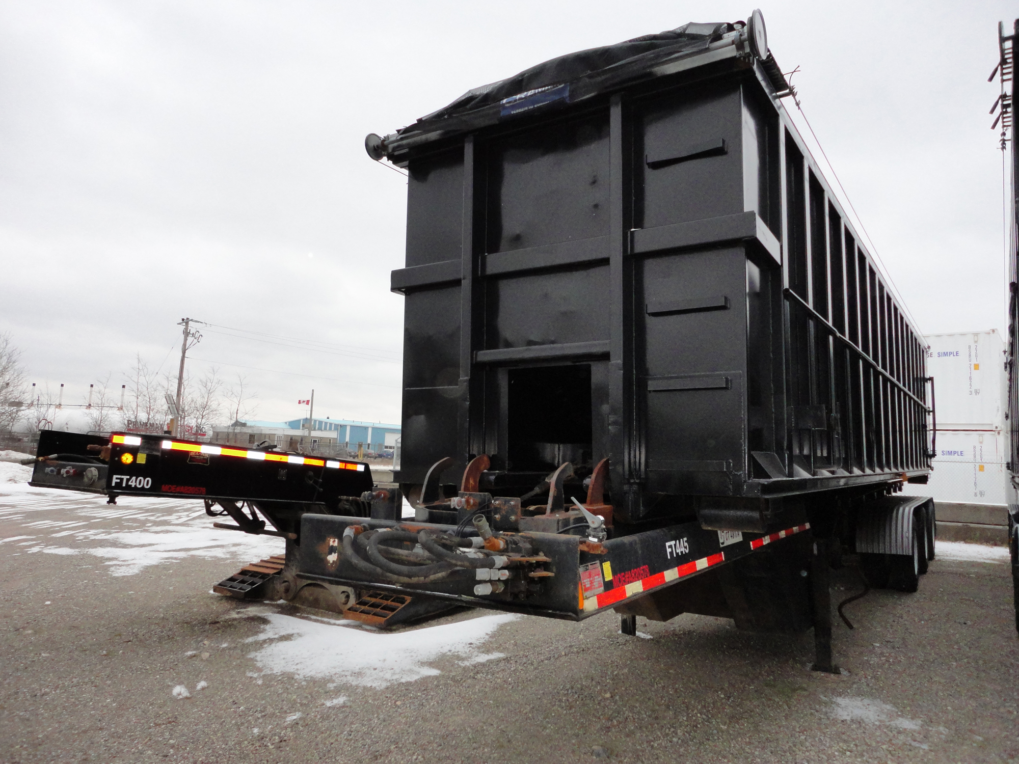 Chagnon Trailer 1996 for sale from grading and excavation company Cambridge
