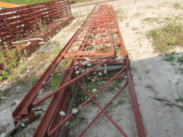 Steel Roof Trusses for sale from grading and excavation company Cambridge